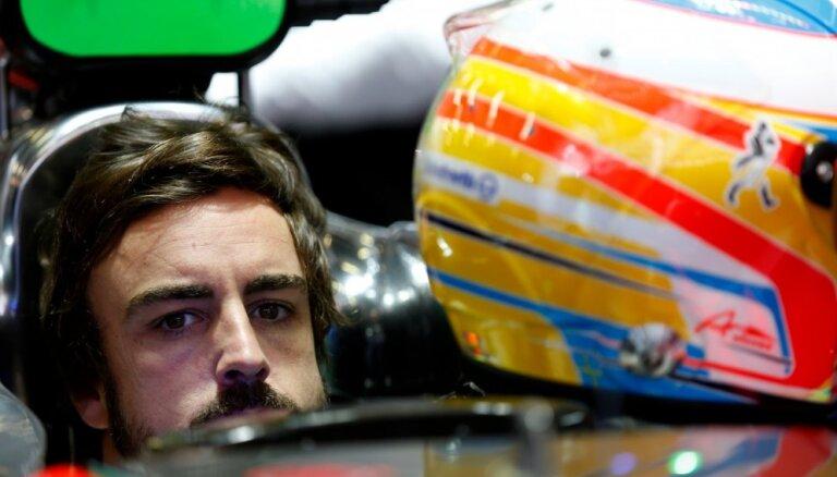 Smagi avarējušajam Alonso aizliedz piedalīties F-1 posmā Bahreinā
