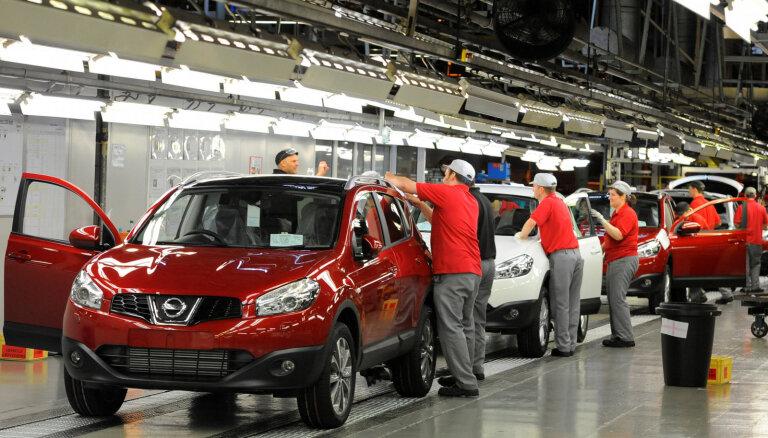 'Nissan' visā pasaulē likvidēšot 10 tūkstošus darbavietu