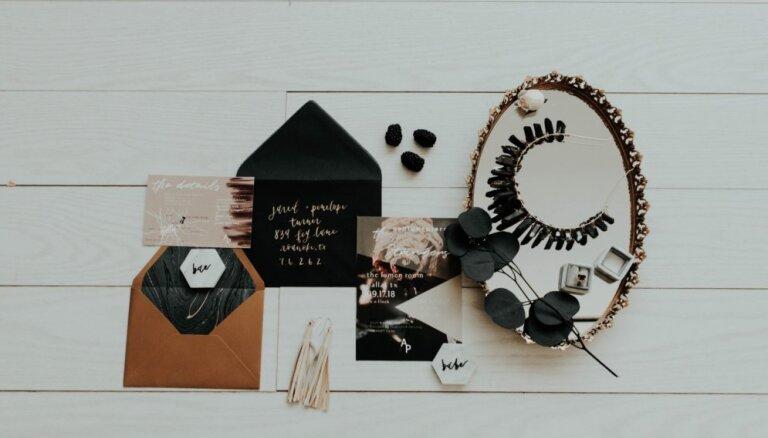 Praktiskais kāzu plānošanas atribūts – datumu rezervēšanas ielūgumi