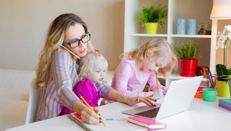 Ceļvedis vecākiem: kā izdzīvot ar bērndārzniekiem mājas apstākļos