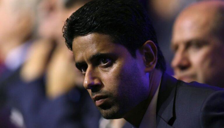 FIFA uzsākusi izmeklēšanu pret korupcijā apsūdzēto PSG komandas prezidentu