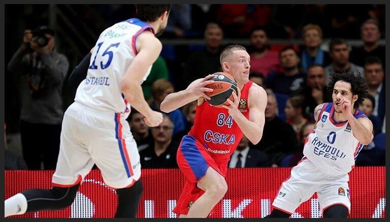 Maskavas CSKA šķiras no Strēlnieka konkurenta Beikera