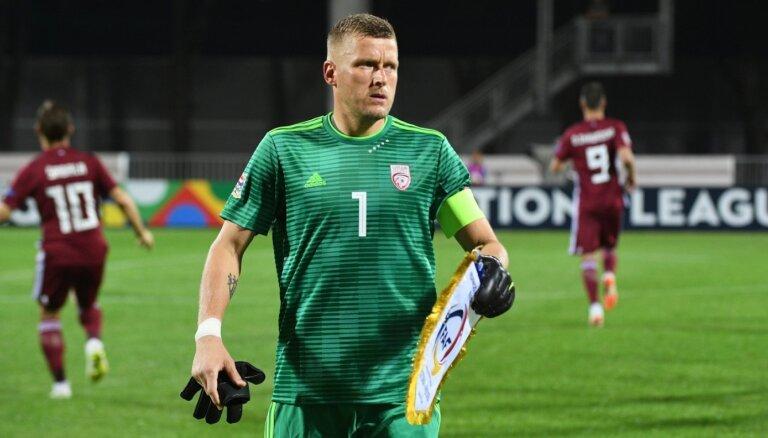 Ilggadējais futbola izlases līderis Vaņins noslēdz vārtsarga karjeru