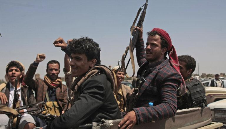 ASV Jemenas hutus pasludinās par teroristu organizāciju