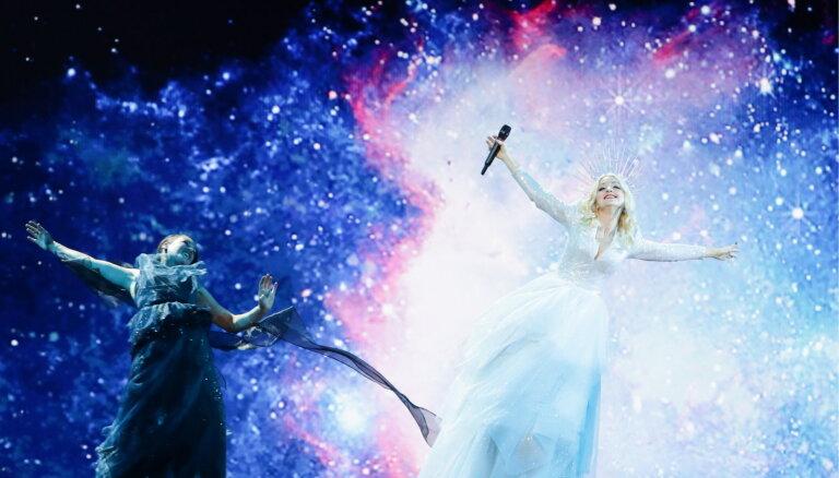 Video: Iespējams, līdz šim iespaidīgākais 'Eirovīzijas' skatuves šovs