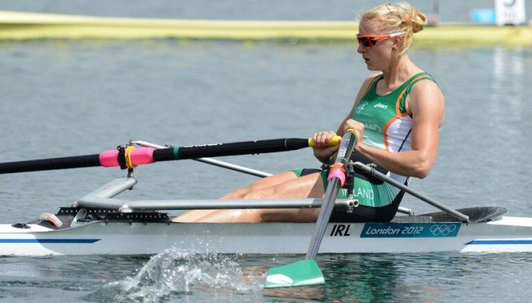 Latviešu airētāja Pušpure atzīta par Īrijas gada sportisti