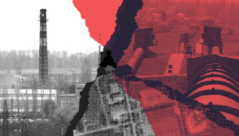 Ūdens trūkums un ķīmiskas katastrofas draudi: Doņeckas Filtrācijas stacija karadarbības krustugunīs