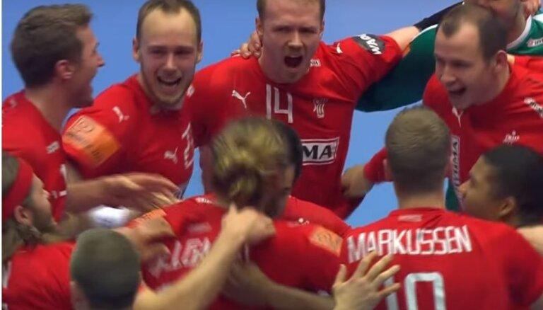 Par pasaules čempionu troni handbolā cīnīsies Dānijas un Norvēģijas izlases