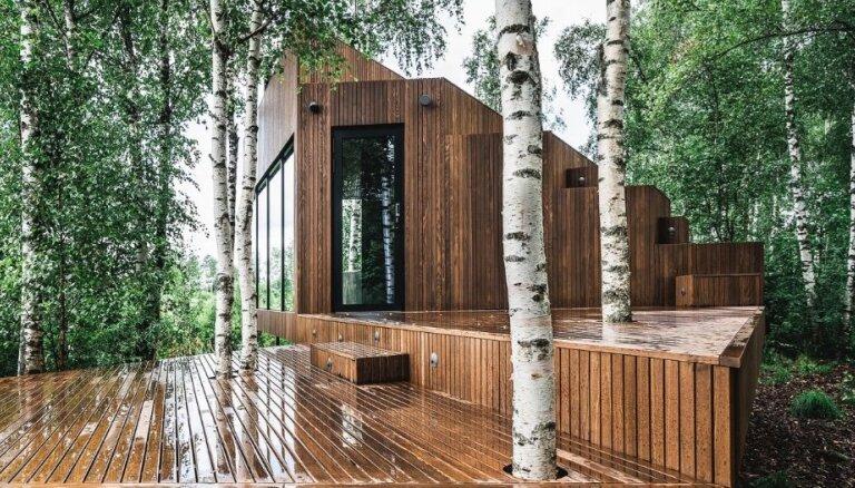 Foto: Igaunijā noskaidrotas šī gada labākās koka mājas