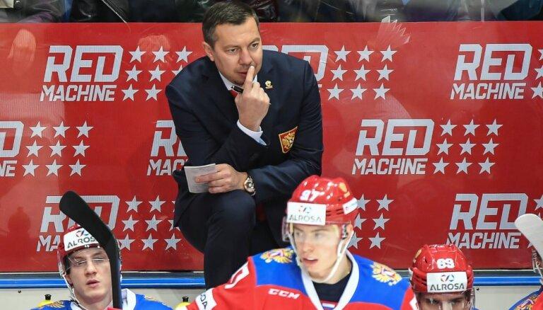 Сборная России по хоккею одержала первую победу после ухода Знарка