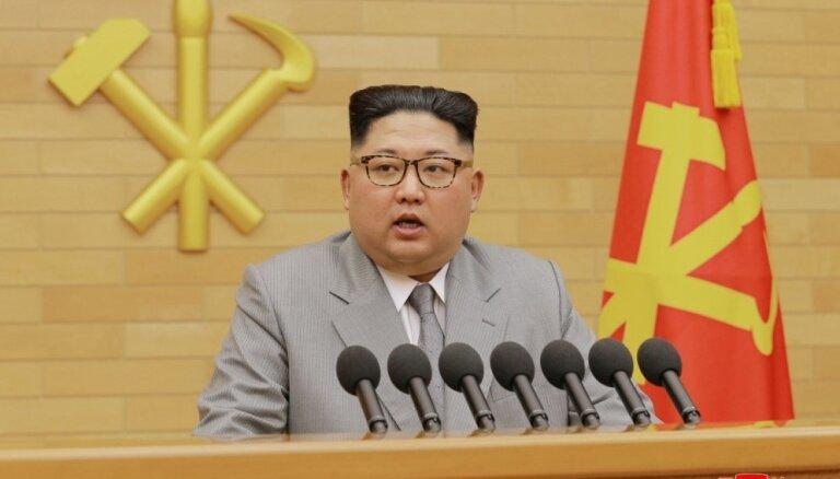 Kims vēlas nākamgad 'bieži' tikties ar Dienvidkorejas līderi