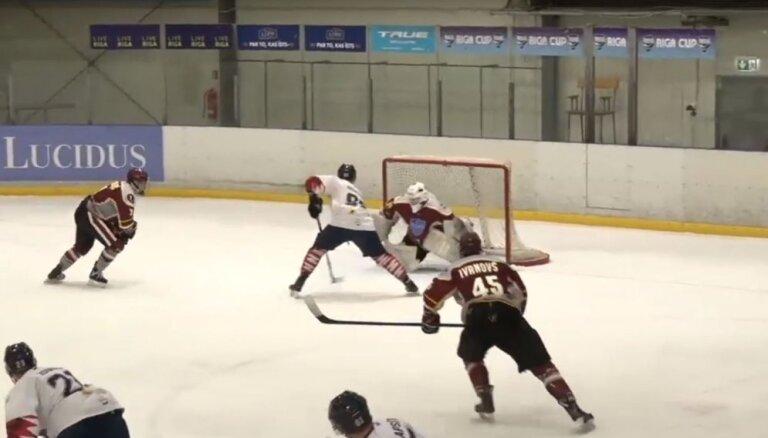 Video: Riekstiņa elegantais vārtu guvums triumfē OHL nedēļas TOP 5