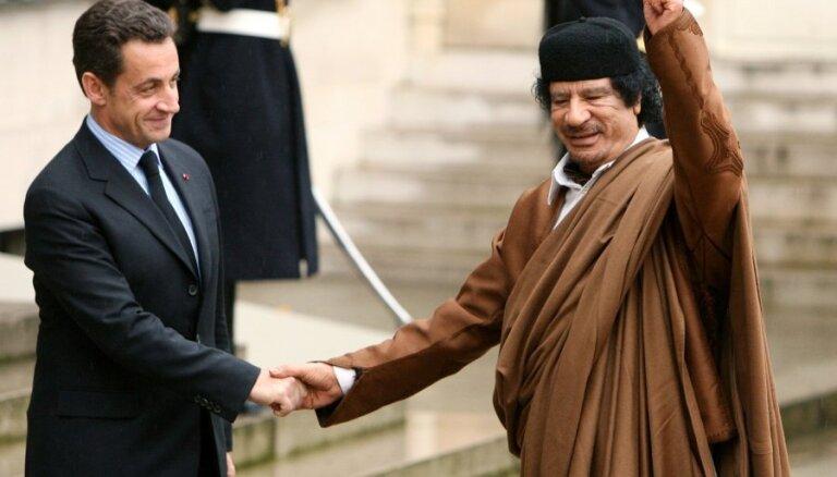 Переводчик Каддафи: Ливия оплатила выборы Саркози