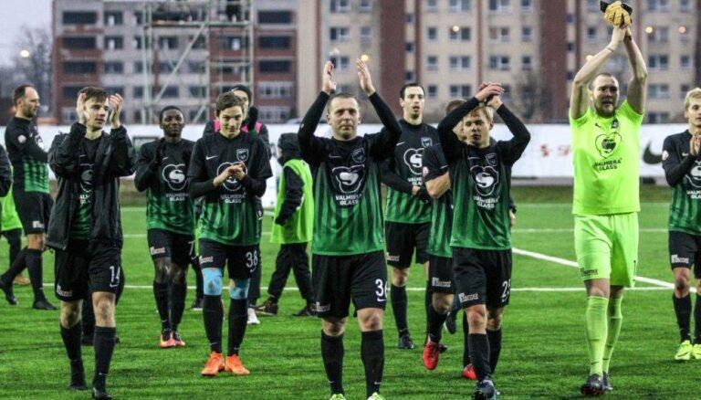 No Latvijas futbola virslīgas izkritusī 'Valmiera Glass/ViA' iegūst LFF 'Fair Play' balvu