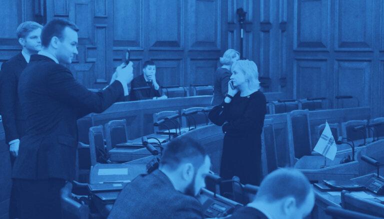 Deviņas stundas ar jauno 13. Saeimu koalīcijas aprises neiezīmē
