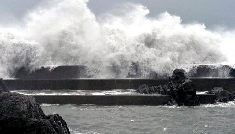 Taifūnā 'Bolaven' Ziemeļkorejā 48 bojāgājušie