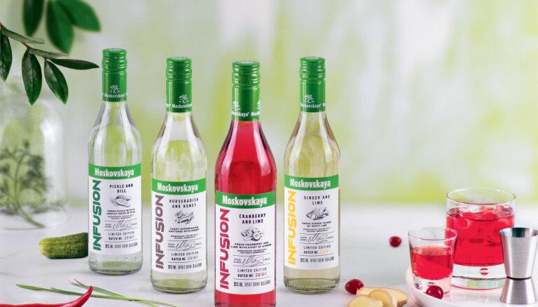 В Латвии начали производить водку со вкусами маринованных огурчиков и хрена
