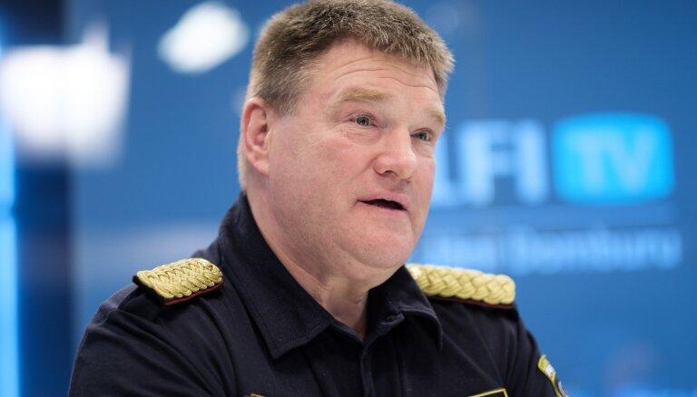 Начальник Государственной полиции Интс Кюзис покинет должность
