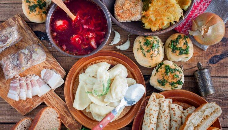 Garšu ceļojums uz Ukrainu: 14 receptes valsts tradicionālās virtuves iepazīšanai