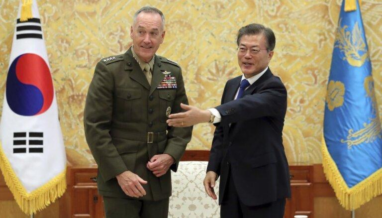Южная Корея просит США помочь избежать войны с КНДР