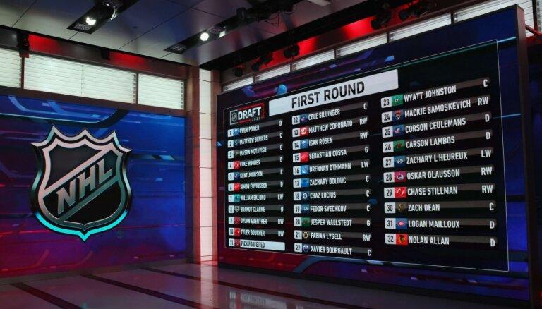 NHL draftā šogad neizvēlas nevienu Latvijas hokejistu