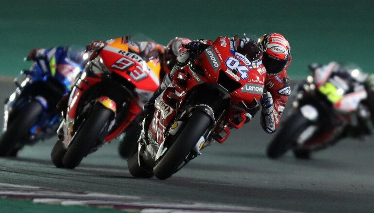 Koronavīrusa dēļ atcelts Katarā paredzētais 'MotoGP' sezonas pirmais posms