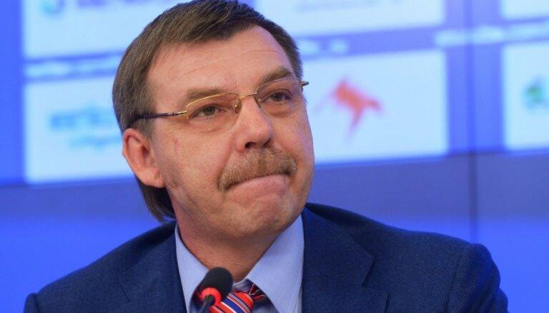 Znaroks un Vītoliņš uz Rīgu vedīs Krievijas izlasi bez NHL spēlētājiem