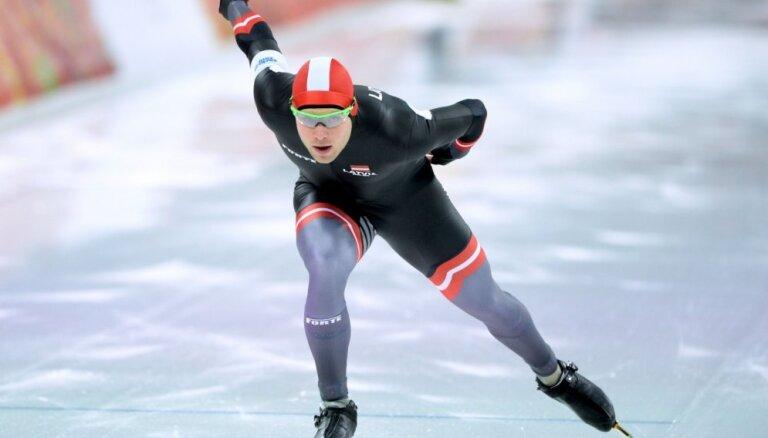 Silovs izcīna septīto vietu Eiropas čempionātā ātrslidošanā 1500 metru distancē