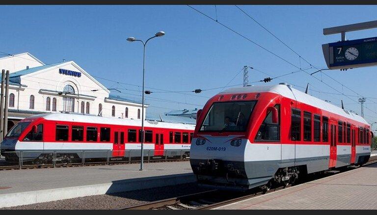 Литовцы запустят пассажирские поезда Рига-Вильнюс и Вильнюс-Варшава до открытия Rail Baltica