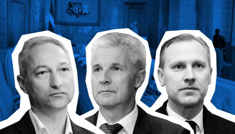 Борданс, Гобземс, и Пабрикс назвали имена ключевых министров нового правительства