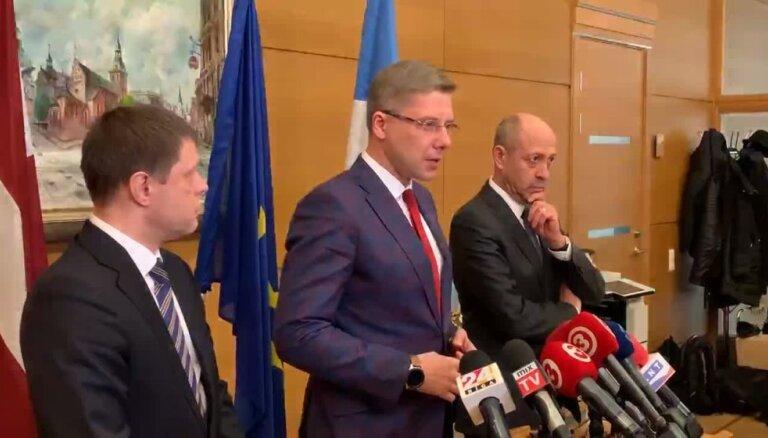 Nils Ušakovs komentē lēmumu viņu atstādināt no Rīgas mēra amata