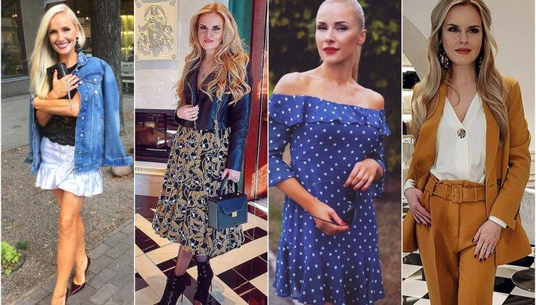 Rozīte-Krištopane un Silova: kā šopavasar ģērbjas Latvijas stilīgākās Maijas