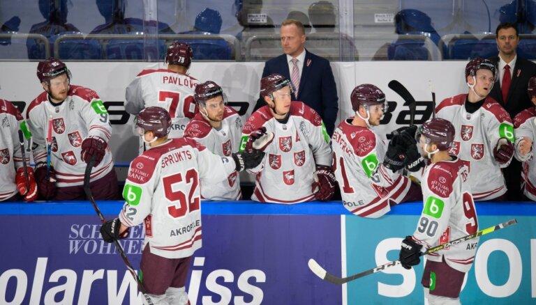 Latvijas hokeja izlase apstiprinājusi dalību pārbaužu spēļu turnīrā Polijā