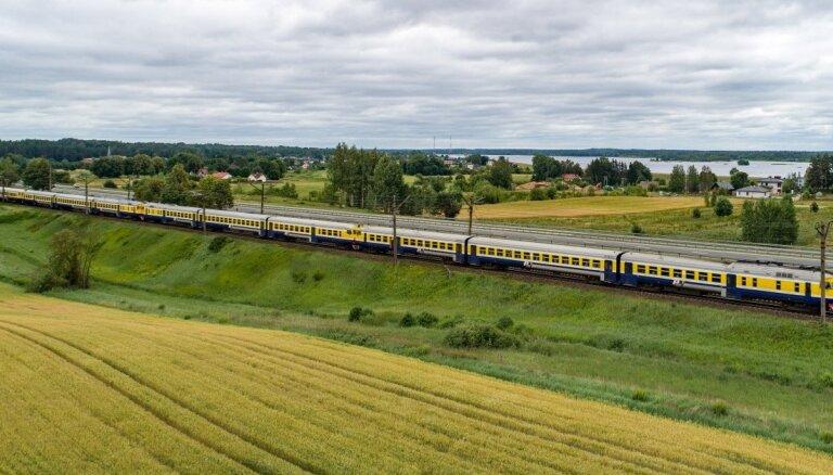 С начала года увеличилось количество пассажиров, перевезенных по инфраструктуре ГАО Latvijas dzelzceļš