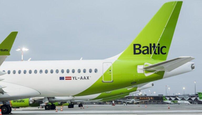 Оборот airBaltic упал на 76%, компания договаривается о дополнительной господдержке