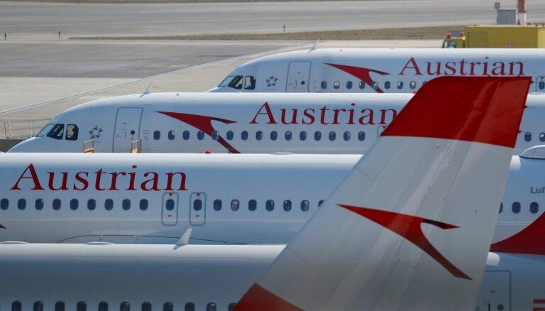'Austrian Airlines' likvidēs 700-800 darbavietas