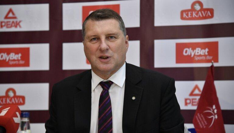 Вейонис стал президентом Латвийского баскетбольного союза