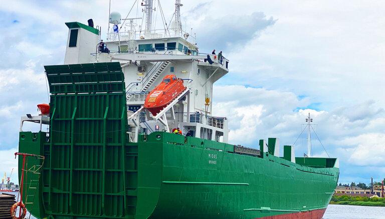 Rīgas ostā pārvadājumus uzsāk jauna prāmju līnija Baltic Link