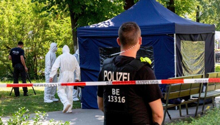Čečenu bijušā kaujinieka slepkavības dēļ Vācija izraida divus Krievijas diplomātus