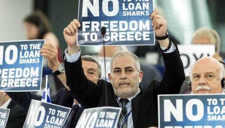 """Саммит ЕС по Греции отменен, продолжаются """"трудные переговоры"""" министров финансов"""