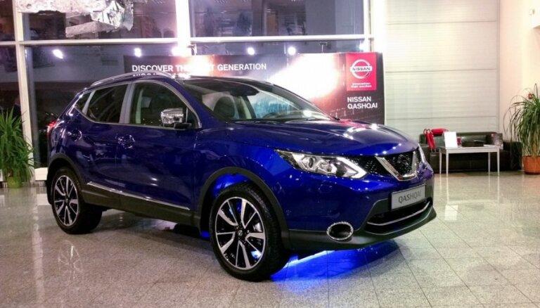 Самые продаваемые легковые авто в Латвии - Nissan и Volkswagen