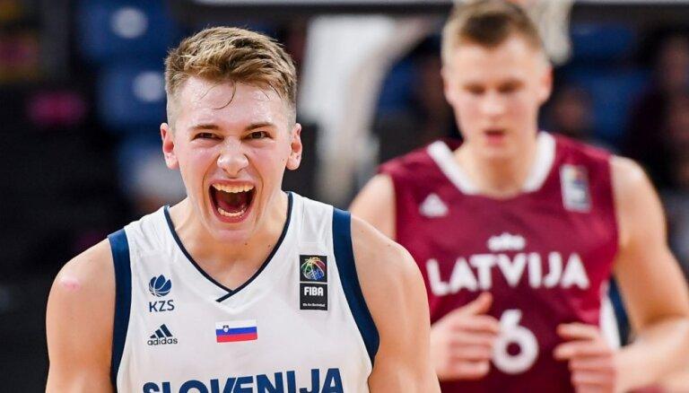 Jaunais talants Dončičs nepalīdzēs Slovēnijai spēlē pret Latvijas basketbolistiem