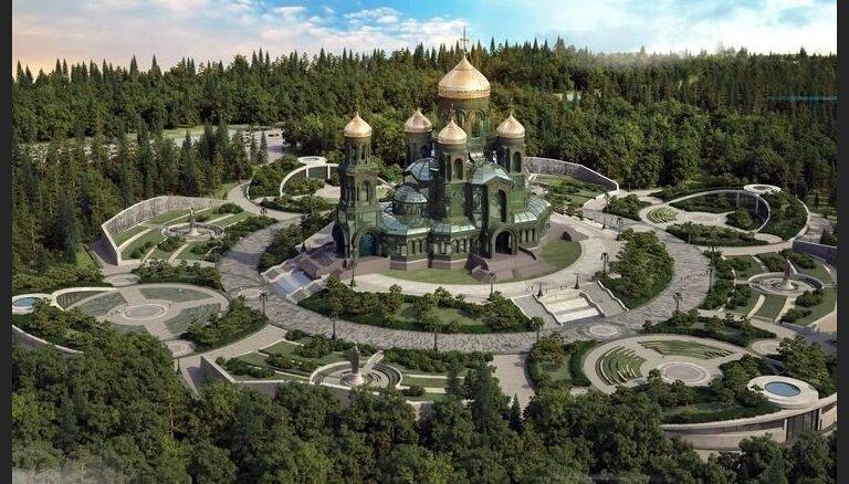 Krievijas bruņoto spēku katedrālē skolos militāros priesterus