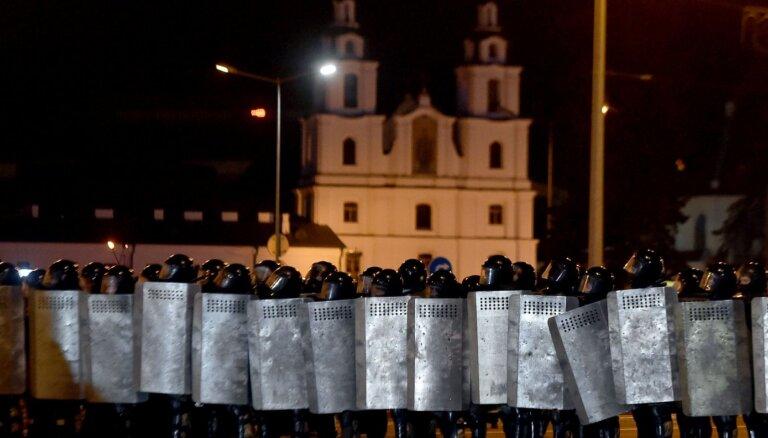 В Минске силовики перекрыли центр города, начались столкновения с ОМОНом, есть пострадавшие