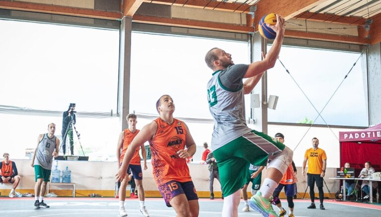 3x3 basketbolisti Mārupē cīnīsies par pēdējām vietām 'Top Gun' finālturnīrā