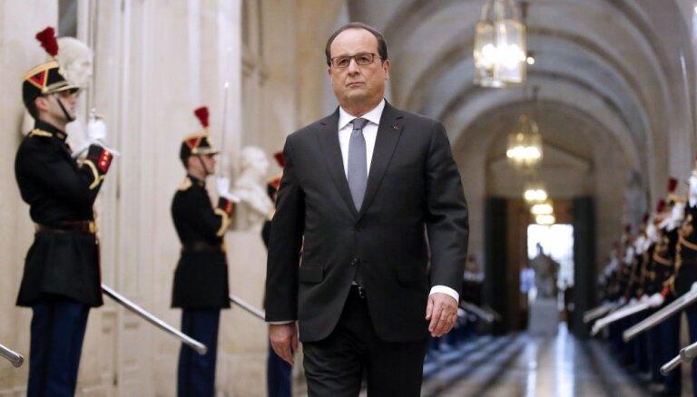 Олланд: Франция, США и Россия могут войти в коалицию против ИГ
