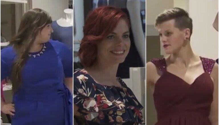 Skandalozā sociālā projekta dalībnieces ļaujas sievišķīgām pārvērtībām