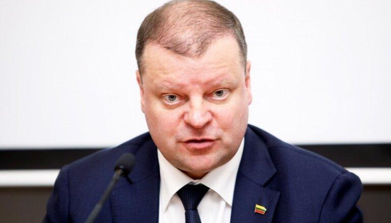 Lietuvas premjers vēlētājiem: latvieši mums nav brāļi, bet konkurenti