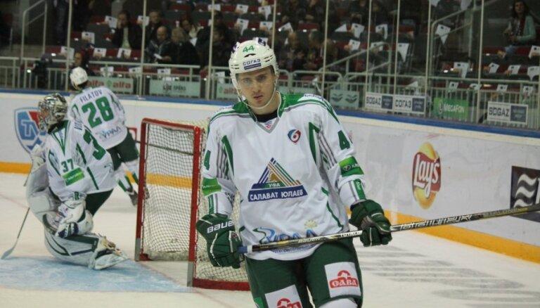 Pēc varonīgas atspēlēšanās Kuldas pārstāvētā 'Salavat Julajev' tomēr piekāpjas 'Amur'
