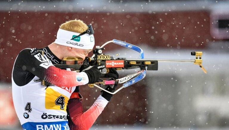 Норвегия взяла золото ЧМ в смешанной эстафете, латвийцы отстали на круг